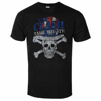 T-shirt pour homme The Clash - Take The 5th - NOIR - ROCK OFF, ROCK OFF, Clash
