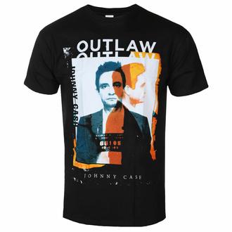 T-shirt pour homme Johnny Cash - Outlaw Photo - ROCK OFF, ROCK OFF, Johnny Cash
