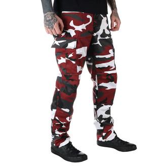 pantalon pour hommes US BDU - RED-CAMO, MMB