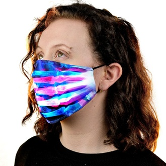 Masque CUPCAKE CULT - XRAY - NOIR, CUPCAKE CULT