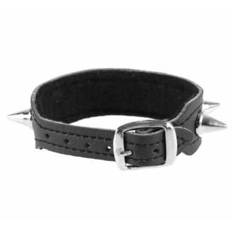 Bracelet Pointes - végétalien, BLACK & METAL