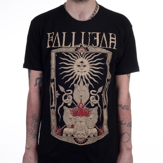 tee-shirt métal pour hommes Fallujah - Wolves - INDIEMERCH, INDIEMERCH, Fallujah