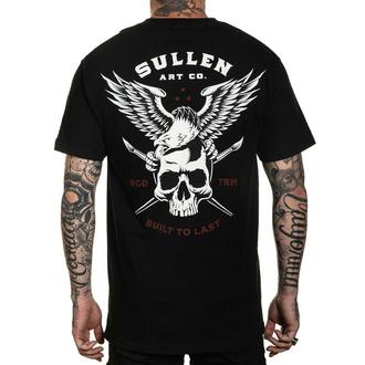 T-shirt SULLEN pour hommes - LINCOLN EAGLE - NOIR, SULLEN