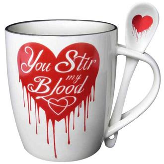 Mug avec cuillère ALCHEMY GOTHIC - You Stir My Blood, ALCHEMY GOTHIC