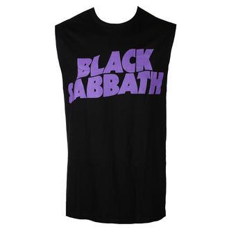 Débardeur hommes BLACK SABBATH - PURPLE LGO - BRAVADO, BRAVADO, Black Sabbath