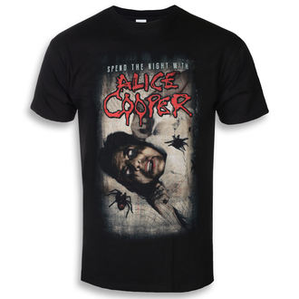 tee-shirt métal pour hommes Alice Cooper - Spend The Night With Spiders - ROCK OFF, ROCK OFF, Alice Cooper