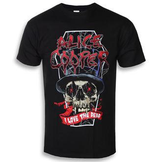 tee-shirt métal pour hommes Alice Cooper - Love The Dead (Nov) - ROCK OFF, ROCK OFF, Alice Cooper