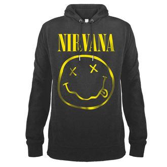 sweat-shirt avec capuche pour hommes Nirvana - AMPLIFIED - AMPLIFIED, AMPLIFIED, Nirvana