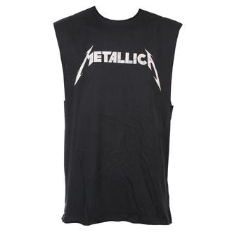 HAUT unisexe Metallica - White Logo - AMPLIFIED, AMPLIFIED, Metallica