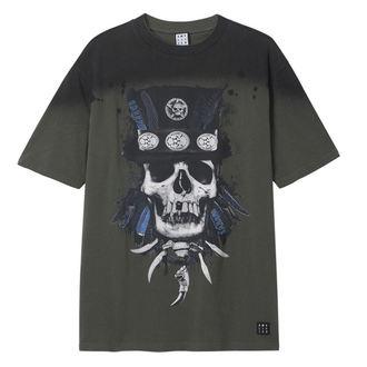t-shirt pour hommes - KHAKI - AMPLIFIED, AMPLIFIED
