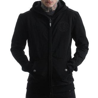 sweat-shirt avec capuche pour hommes - BACK 2 BLACK - HYRAW, HYRAW