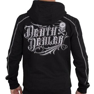 sweat-shirt avec capuche pour hommes - DEATH DEALER GRIS - HYRAW, HYRAW