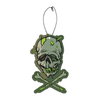 Parfum de voiture Toxictoons Zombie head - Bubblegum