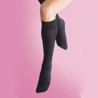 chaussettes hautes LEGWEAR - 70 denier opaque genoux - noir, LEGWEAR