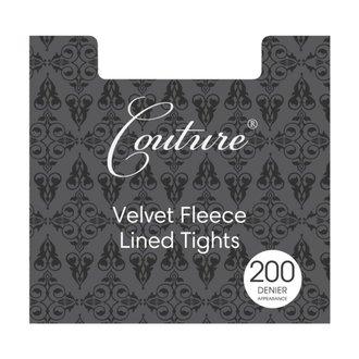 Collants LEGWEAR - Fashion velvet fleece lined - Noir, LEGWEAR
