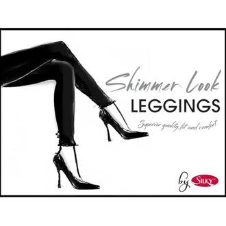 Legging pour femme LEGWEAR - Shimmer look - Noir, LEGWEAR