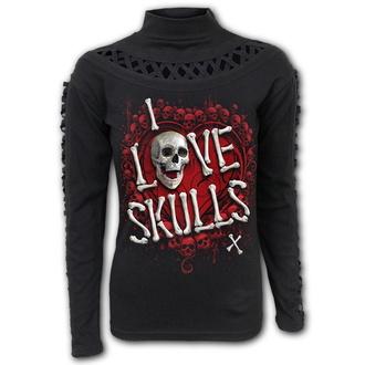 t-shirt pour femmes - LOVE SKULLS - SPIRAL, SPIRAL