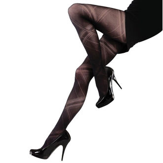 Collants LEGWEAR - Criss cross - Noir, LEGWEAR