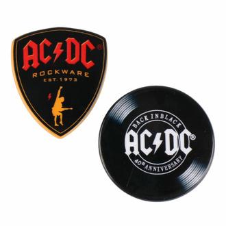 Pins (ensemble 2ks) AC/DC, CERDÁ, AC-DC