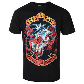 tee-shirt métal pour hommes Guns N' Roses - Appetite for destruction - BRAVADO, BRAVADO, Guns N' Roses